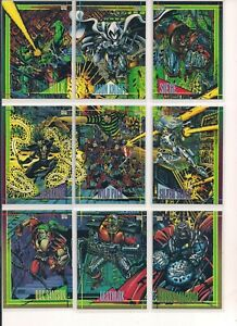 MORG # 17-1993 MARVEL UNIVERSE SERIES 4 Base trading card
