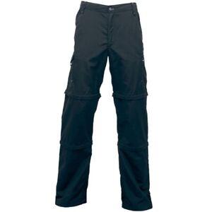 Regatta-Larsson-Double-Z-O-Mens-Lightweight-Water-Repellent-Zip-Off-Grey-34R-034