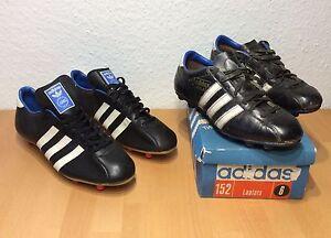 Details about 2 pairs Vintage Adidas La Plata 60s 70s football boots