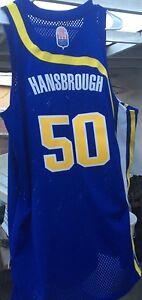 3da7bca5c86b Tyler Hansbrough NBA Indiana Pacers UNC Adidas HWC Vtg Sewn Men L ...