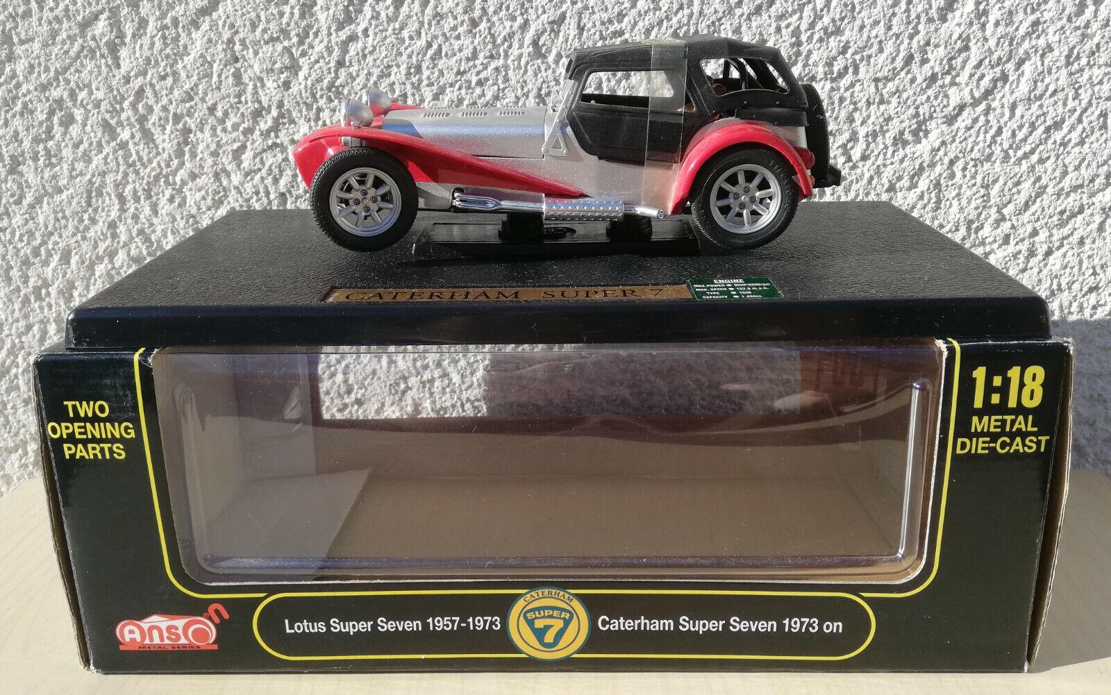LOTUS SUPER SEVEN 1957 - 1973 CATERHAM Super Seven 1073 1 18 Anson