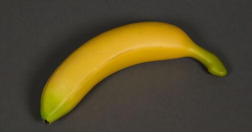 Artificielle banane 18cm DP Dekoobst kunstobst Artificiel Fruits