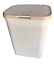 Plastic-Laundry-Basket-Large-Washing-Clothes-Bin-Rattan-Style-with-Handles-Lid thumbnail 37