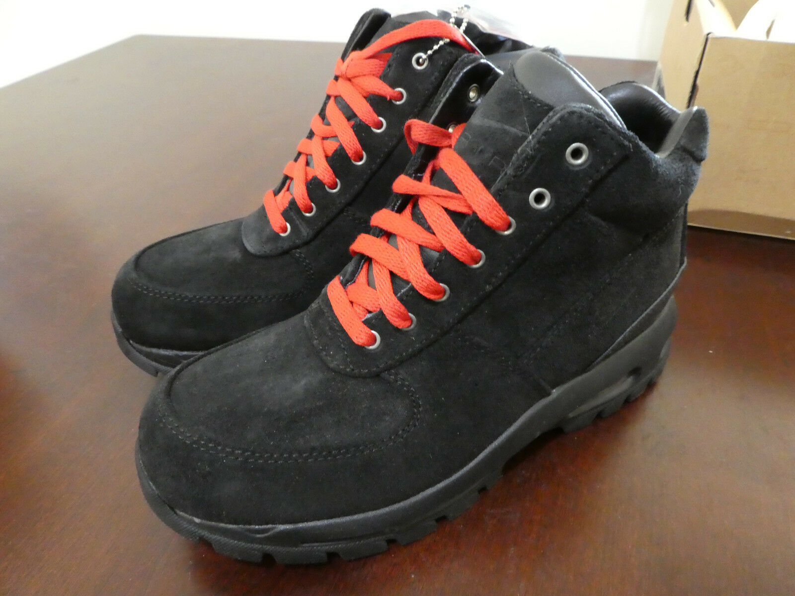 Nike Air Max Goadome mens boots brown 865031 016 new suede black