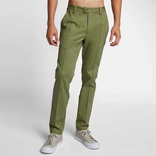 NIKE NIKELAB x RF ROGER FEDERER CASUAL TROUSERS PANTS PALM GREEN 920457 387 sz L
