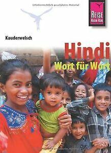 Kauderwelsch-Hindi-Wort-fuer-Wort-von-Krack-Rainer-Buch-Zustand-gut