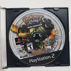Ratchet and Clank Going Commando (Sony PlayStation 2 PS2, 2003) Disc Only Tested