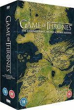 GAME OF THRONES Complete HBO TV Series DVD Box Set Collection Season 1 2 3 New