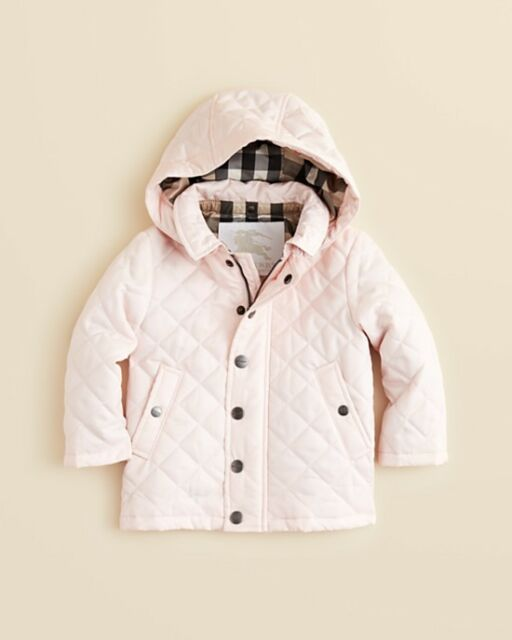 c33be8c1b8c7 NWT NEW Burberry baby girls boys Jerry red pink or blue quilted jacket 6m  or 18m