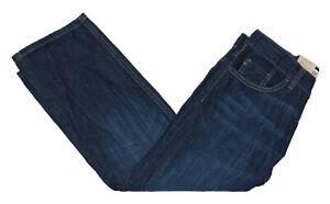 Levi-039-s-505-Sz-8-Husky-Boys-28Wx23L-Adjustable-Waist-Straight-Leg-Denim-Jeans-NWT