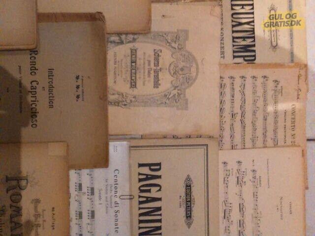 26 stk violinkoncerter, Violinkoncerter