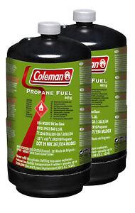 2x-Coleman-Propangasflasche-M1110-Typ-M1003-fuer-Northstar-Propane-etc