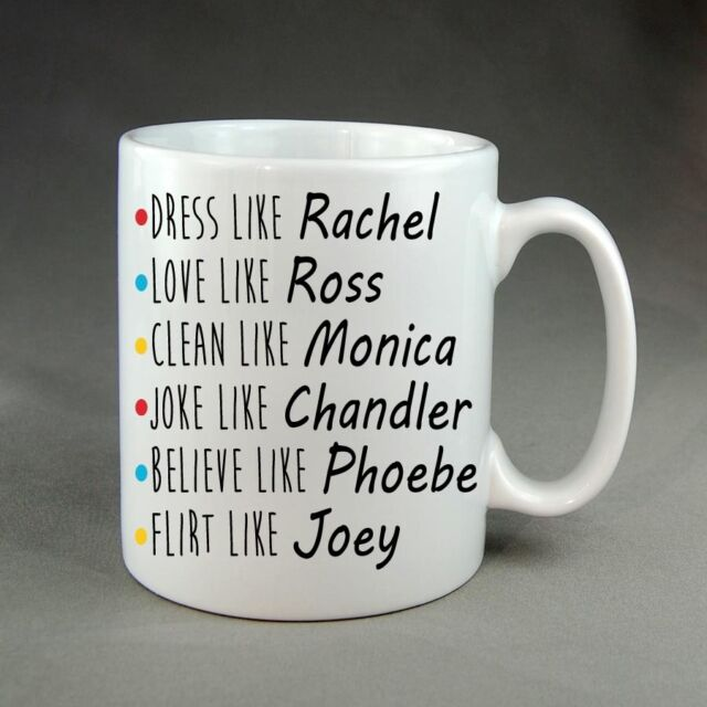 Friends Tv Show Mug Cup