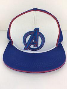 Avengers-Assemble-Snapback-Hats-Marvel-Comics-Superheros-Flat-Bill-Hat-T55-N8074