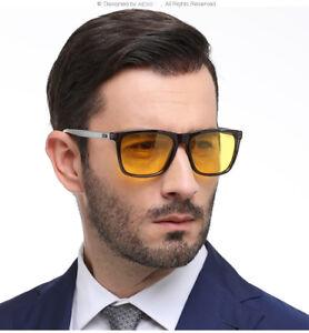 99c0b72b8f Image is loading Aluminium-Night-Vision-Driving-Glasses-HD-Polarized- Sunglasses-