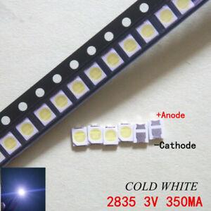 Diodes 100-200pcs Original For Lg Led Lcd Tv Backlight Lens Beads 1w 3v 3528 2835 Lamp Beads Cold Cool White Light