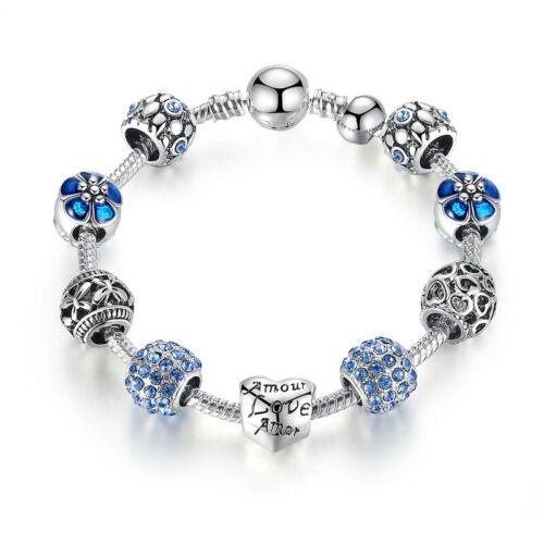 Voroco Cuivre Perles Bracelet Pendentif Charme beauté femme cadeau mariage bijoux