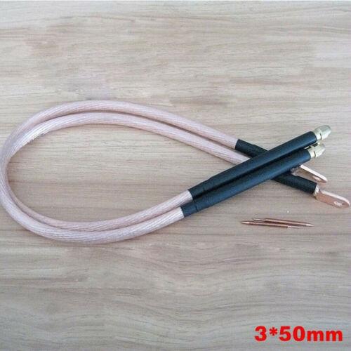 1 set 25 square DIY Spot Welder Copper 18650 Handheld Spot Welding Pen Kit 50mm