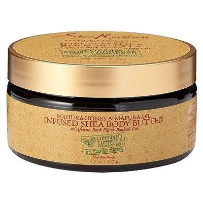 SheaMoisture Community Commerce Manuka Honey & Mafura Oil Infused Shea Body B...