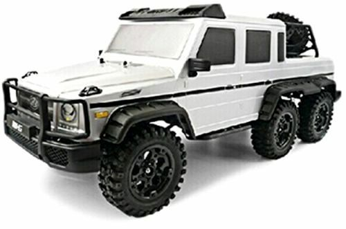 hg p601 1 10 6wd rc crawler rtr 6x6 wheel mercedes g wagon style g63 us ebay. Black Bedroom Furniture Sets. Home Design Ideas