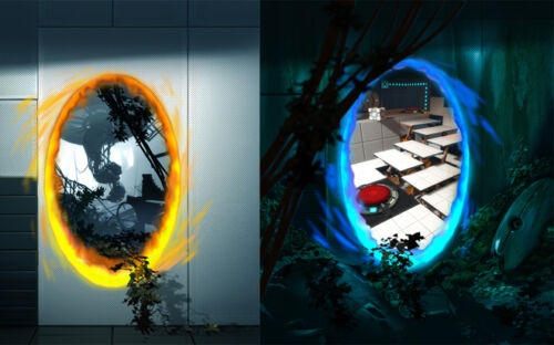 """Portal 2 Hot Game Wall Poster 40/""""x24/""""  P016"""