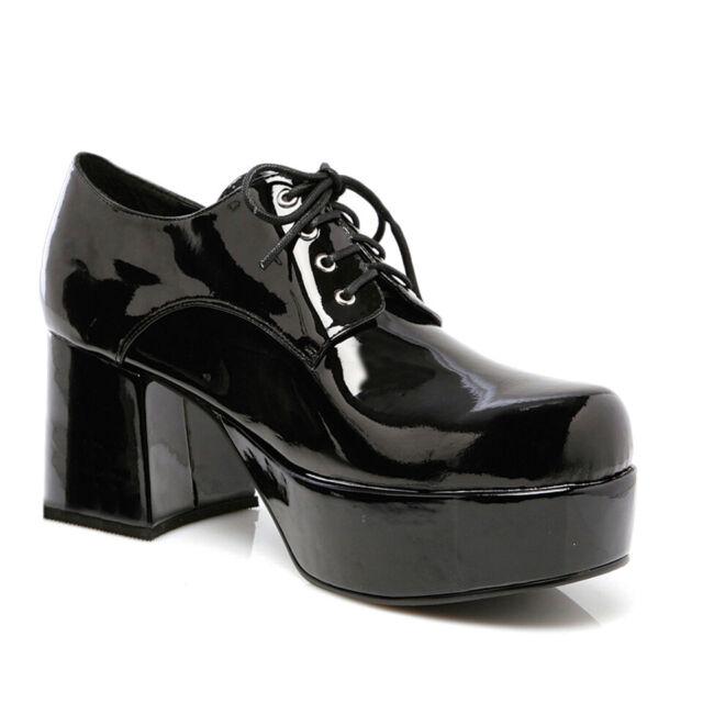 2206077cb42 Ellie Shoes Disco 70s Pimp Dance Halloween Costume Black Heels Shoes 312- PIMP