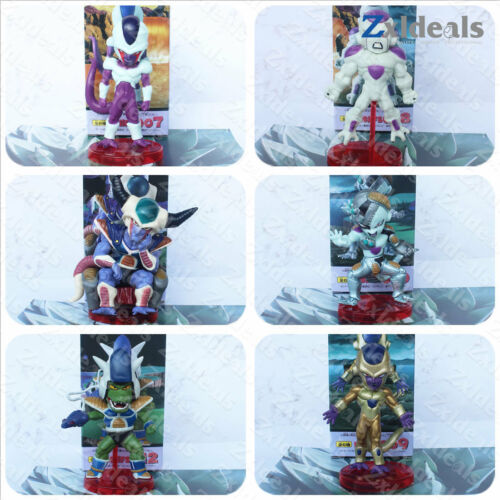 Dragon Ball Freeza Mini Figure Action Set Statue Display Toys Model Collection