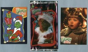 Grinch Christmas Card Hallmark and Grinch Trading Card Collector Pack