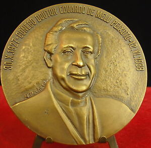 Medalla-Docteur-portugues-Eduardo-De-Melo-Peixoto-1988-por-Pacheco-Medal