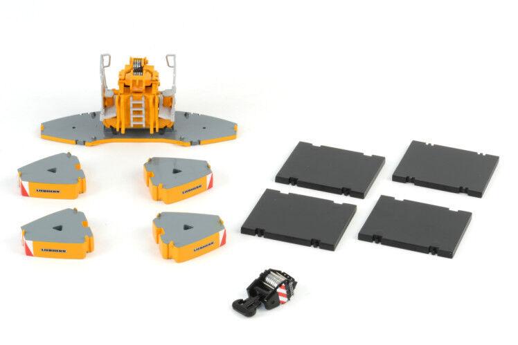 WSI 04-1079 LIEBHERR LTM 1350 Ballast Kit échelle 1 50