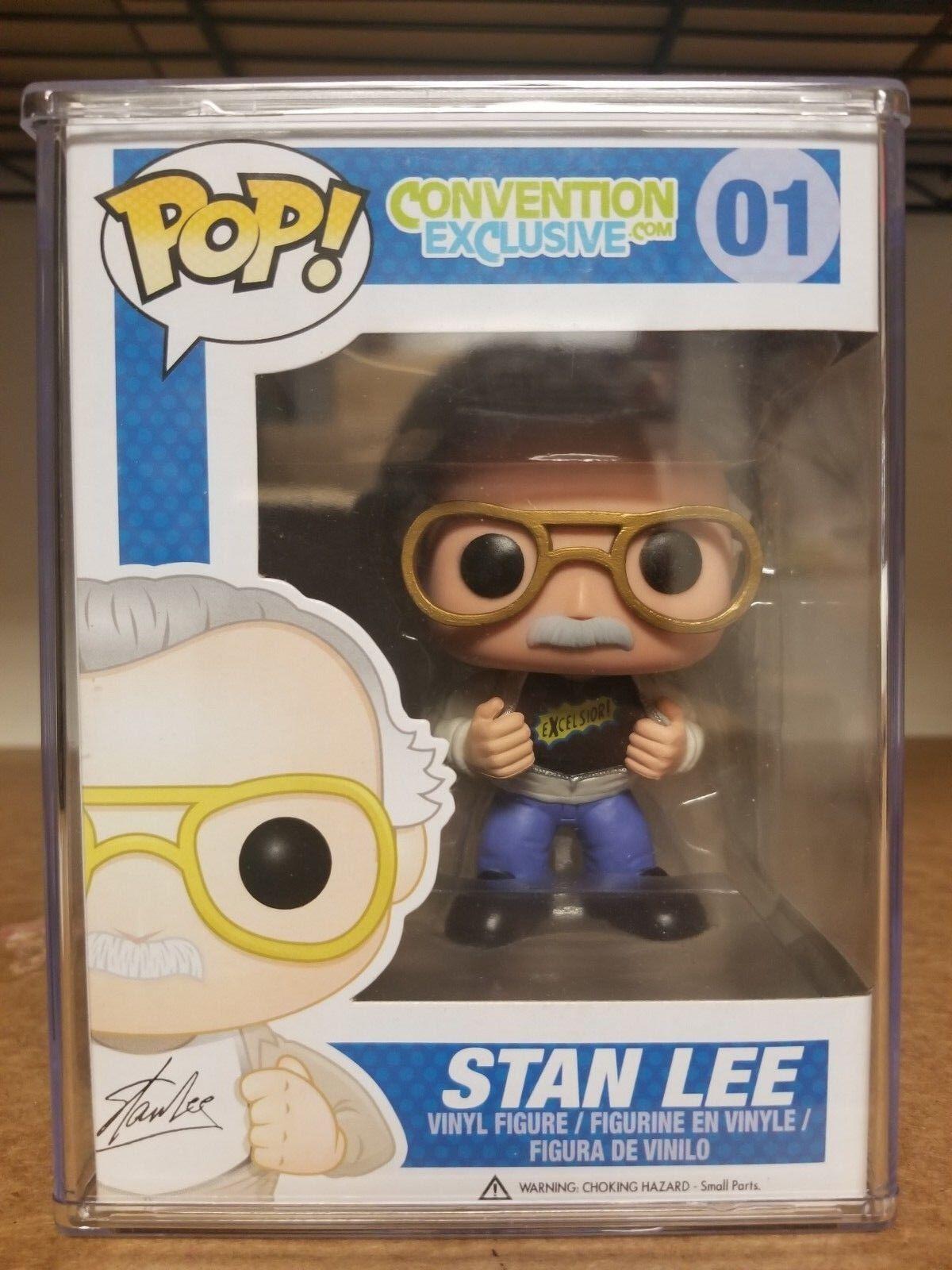 Pop  Marvel Convención Exclusiva Stan Lee Excelsior Vinilo Figura por Funko JC