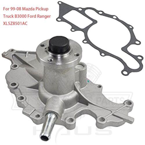 For Mazda B3000 Ford Ranger 3.0L 1999-2008 Engine Water Pump  XL5Z8-501AC