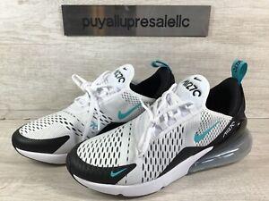 Men-s-Nike-Air-Max-270-Black-White-Dusty-Cactus-AH8050-001-Size-8-5