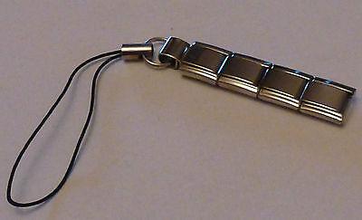Italian Charm for MOBILE PHONE / Handbag - Add 9mm Classic Links to Loop Dangle