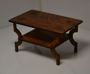 Furniture For Dolls 1 6 1 6 Dollhouse Coffee Table Fr Barbie Author
