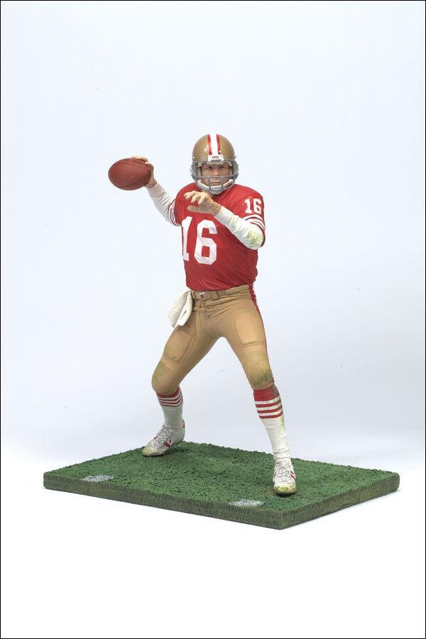McFarlane NFL Legends 2 JOE MONTANA figureSF 49ersHall of FameNotre DameMIB