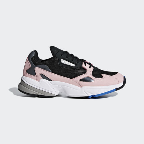 Adidas B28126 Falcon Running shoes black pink sneakers