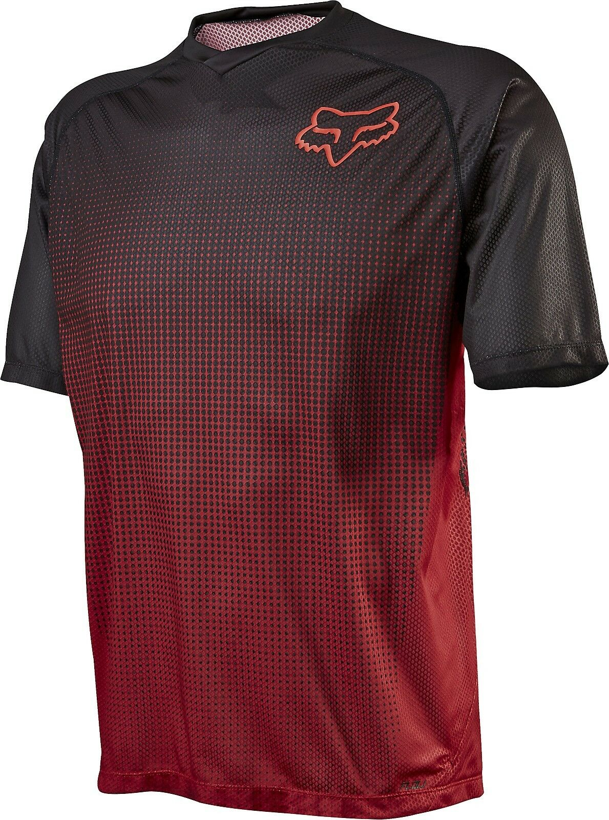 Fox Racing Flow s s Jersey Red