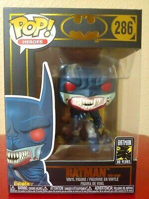 Vinilo Figura #286 FUNKO POP! DC: Batman Batman Lluvia Rojo 80TH 1991