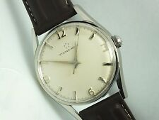 VINTAGE ETERNA-MATIC Stainless Steel Automatic CAL 1412.UD 17Js Men's Watch