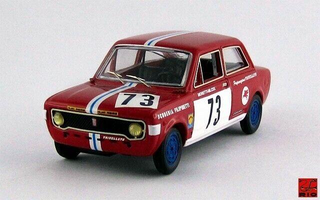 FIAT 128 - 2 PORTE - Brno 1971 - Moretti   Micek 1 43   RIO4375 Made in