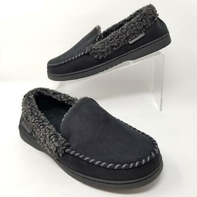XL NWOB Mens ISOTONER Gel Memory Foam Slipper Bedroom Slip On Shoes M L
