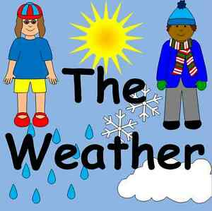 the weather topic resources on cd teaching childminder weather chart eyfs ks1 ebay. Black Bedroom Furniture Sets. Home Design Ideas