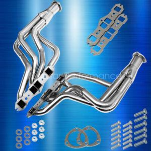 Olds Cutlass Delta 65-74 350 400 455 V8 Long Tube Stainless Performance Headers