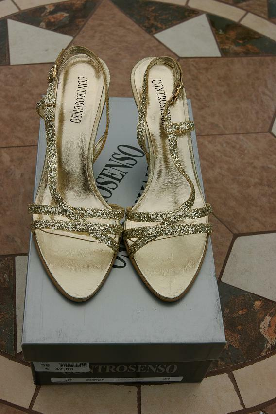 Recortes de precios estacionales, beneficios de descuento Preciosa nueva señoras de la Navidad, Fiesta Zapatos Talla /38.