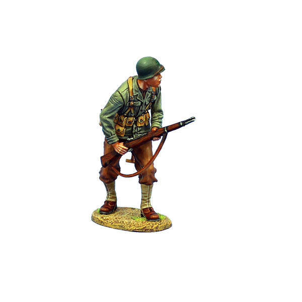 NOR039 US 4th ID Private Standing with M1 Garand by First Legion