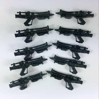 10Pcs Blue Lightsaber Guns Weapon for Star Wars Clone 3.75/'/' Action Figure Toys