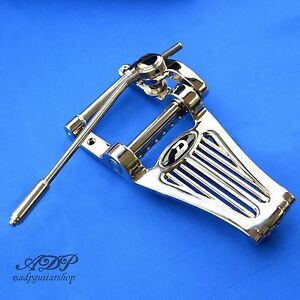 Vibrato-Duesenberg-Radiator-Tremolo-Long-B7-Diamond-Tremola-TDRLN-Nickel