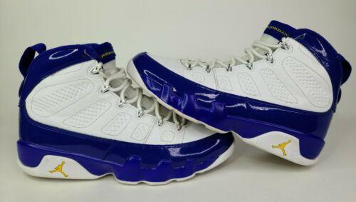 "Nike Air Jordan 9 Retro Kobe PE ""Lakers"" Size 8 Br"