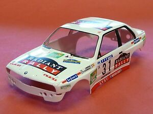 FLY-KAROSSERIE-in-1-32-BMW-M3-E30-RACC-fuer-Slotcar-z-B-mit-Plafit-FY79347A